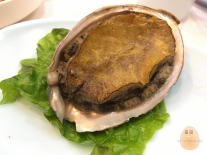 Huge abalone from the fish market.