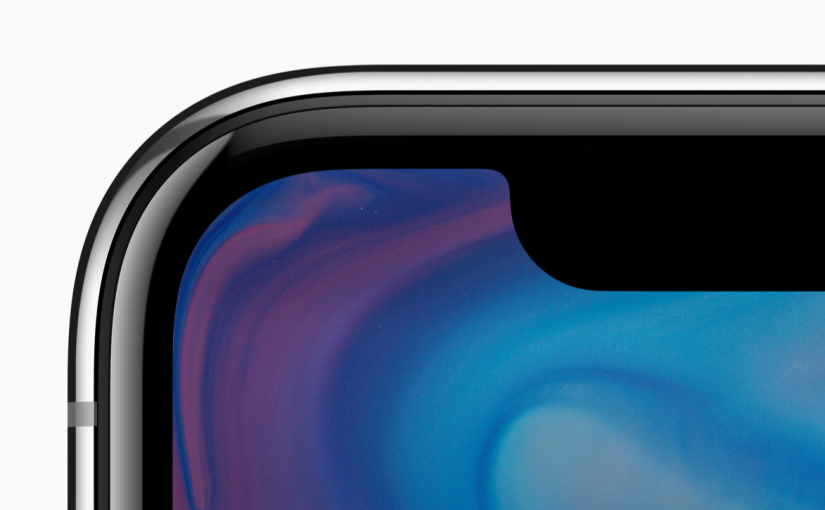 iPhone X – It's Screen that's all.