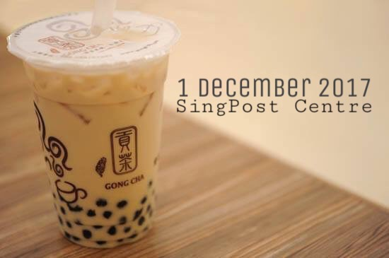 Gongcha is opening TOMORROW